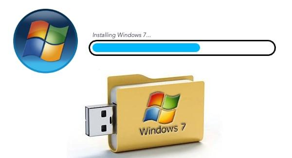 Instalar Windows 7 desde pendrive