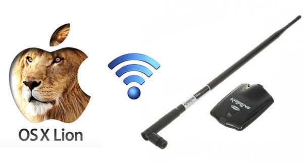 Como instalar antena wifi por usb Kasens G5000 en iMac y macbook, con Os Lion