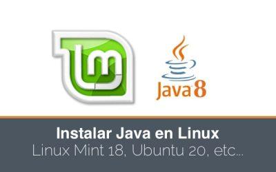 Como instalar Java en Linux Mint 18 o en cualquier otra distribución linux