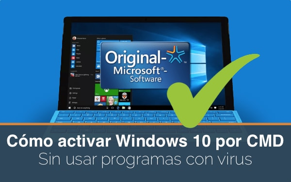 Activar Windows 10 CMD