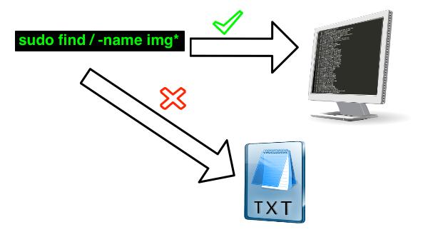 ¿Cómo filtrar mensajes de error de find (o cualquier otro comando) en el terminal?