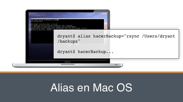 crear alias en mac