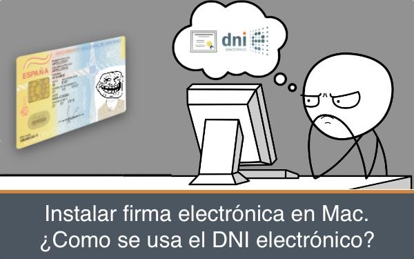 Instalar dni electronico en Mac