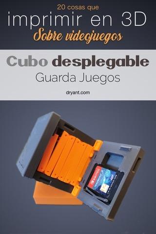 cubo articulado guarda juegos nintendo switch