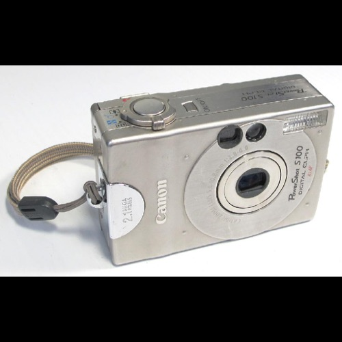 Gadget vintage - Primera Cámara digital.
