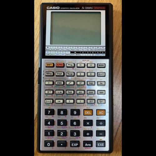 Calculadora cientifica Casio Fx7000. Retro Vintage