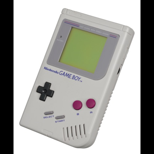 GameBoy Clasica. El gadget retro por excelencia.