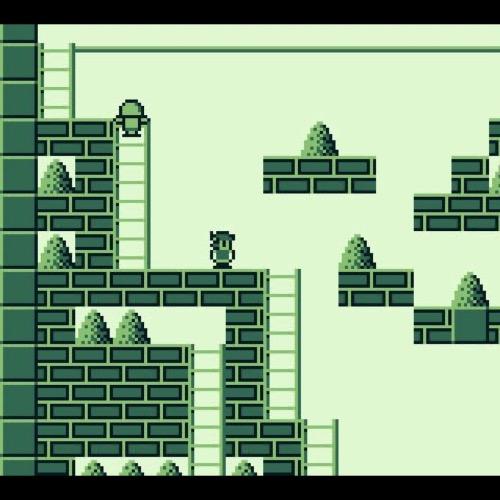 Juego Game Boy Retro. Hyper Load Runner