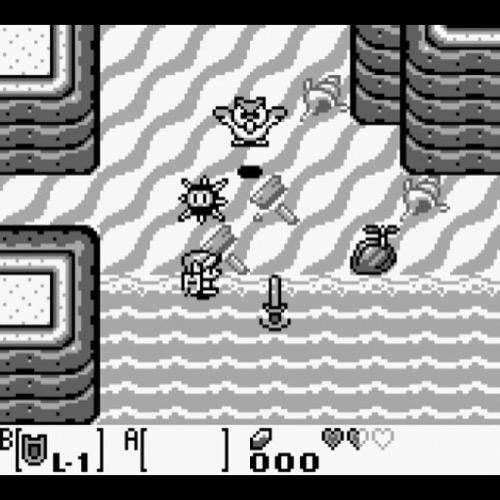 The Legend of Zelda: Links Awakening.